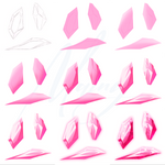 Step By Step - Crystals practice by Mainy-Ilustra