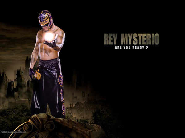 rey mysterio wallpapers. Wallpaper Rey Mysterio 1 by