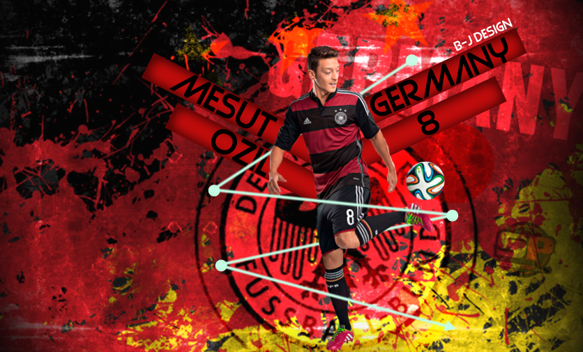 Mesut Ozil Wallpaper 2015-16 B-J DESIGN By BleartJashari