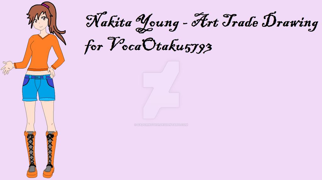 Nakita Young - OC Drawing - Finished by Zadornov151