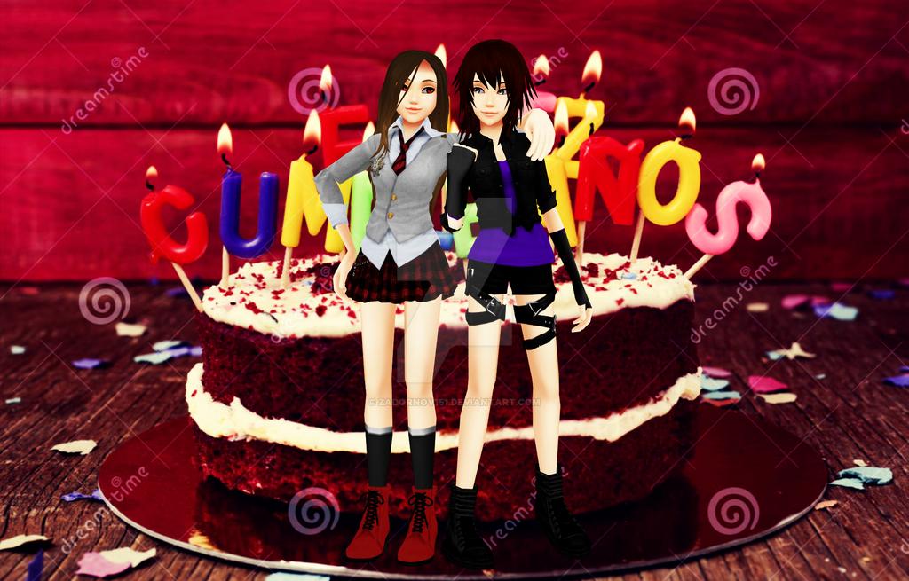 Feliz Cumpleanos Karen Happy Birthday Present By Zadornov151 On
