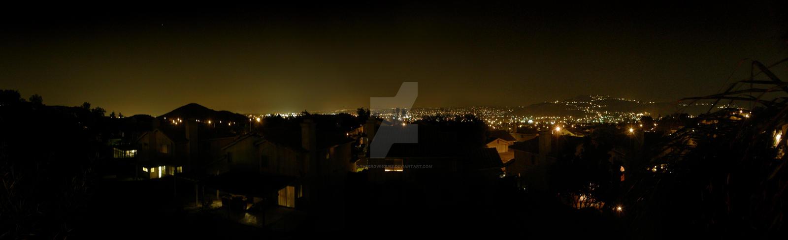 Corona Hills at Night