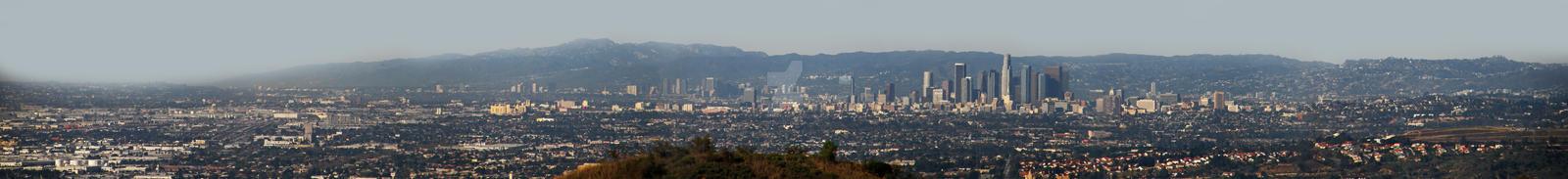 Los Angeles City Panorama