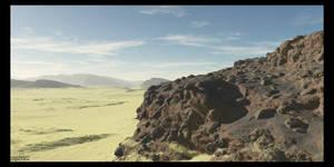 Desert Rock by zipclaw