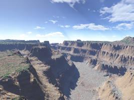 Canyon 2 - alt. Pov + Light by zipclaw
