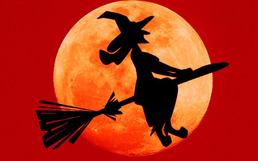 Halloween Witch 'Wallpaper' by RockerTheDragon on DeviantArt