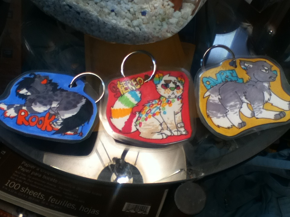 Keychains for SOLlTARY .:CUSTOMS:. by kyuubialley