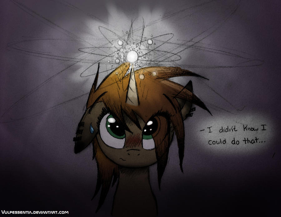 Quantum Pony by Vulpessentia