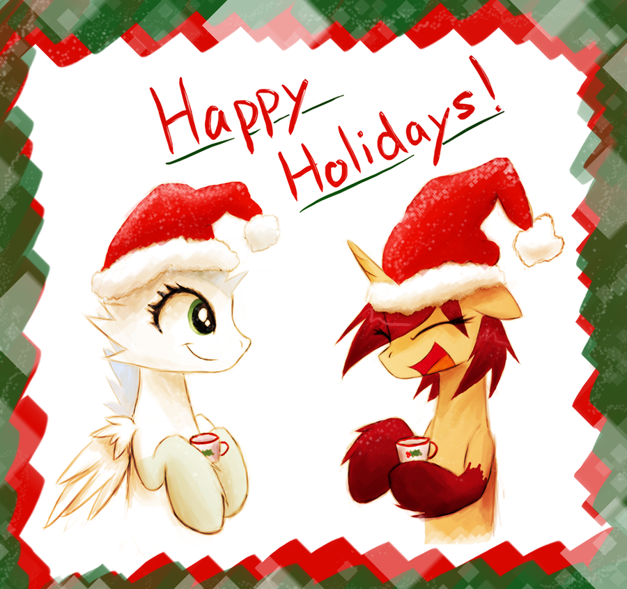 Happy Holidays by Vulpessentia