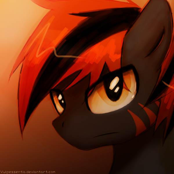 Fire in the Eyes by Vulpessentia