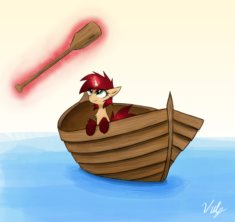 The Daily Rho 1: Row Row Rho Your Boat by Vulpessentia