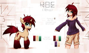Updated Rho Reference Sheet