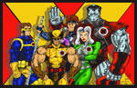 Coloured: X-Men