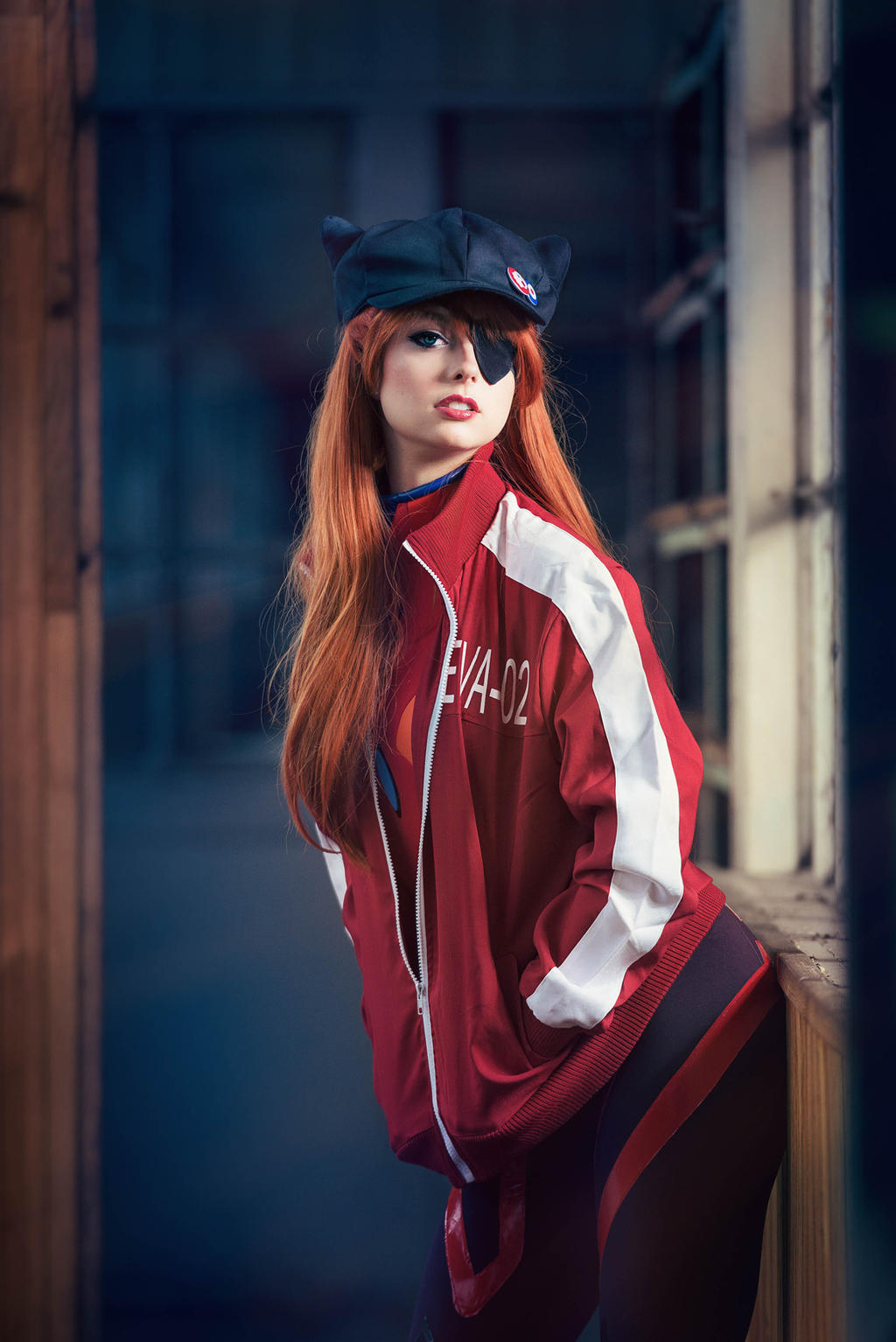 Asuka Soryu Langley by Ally-bee
