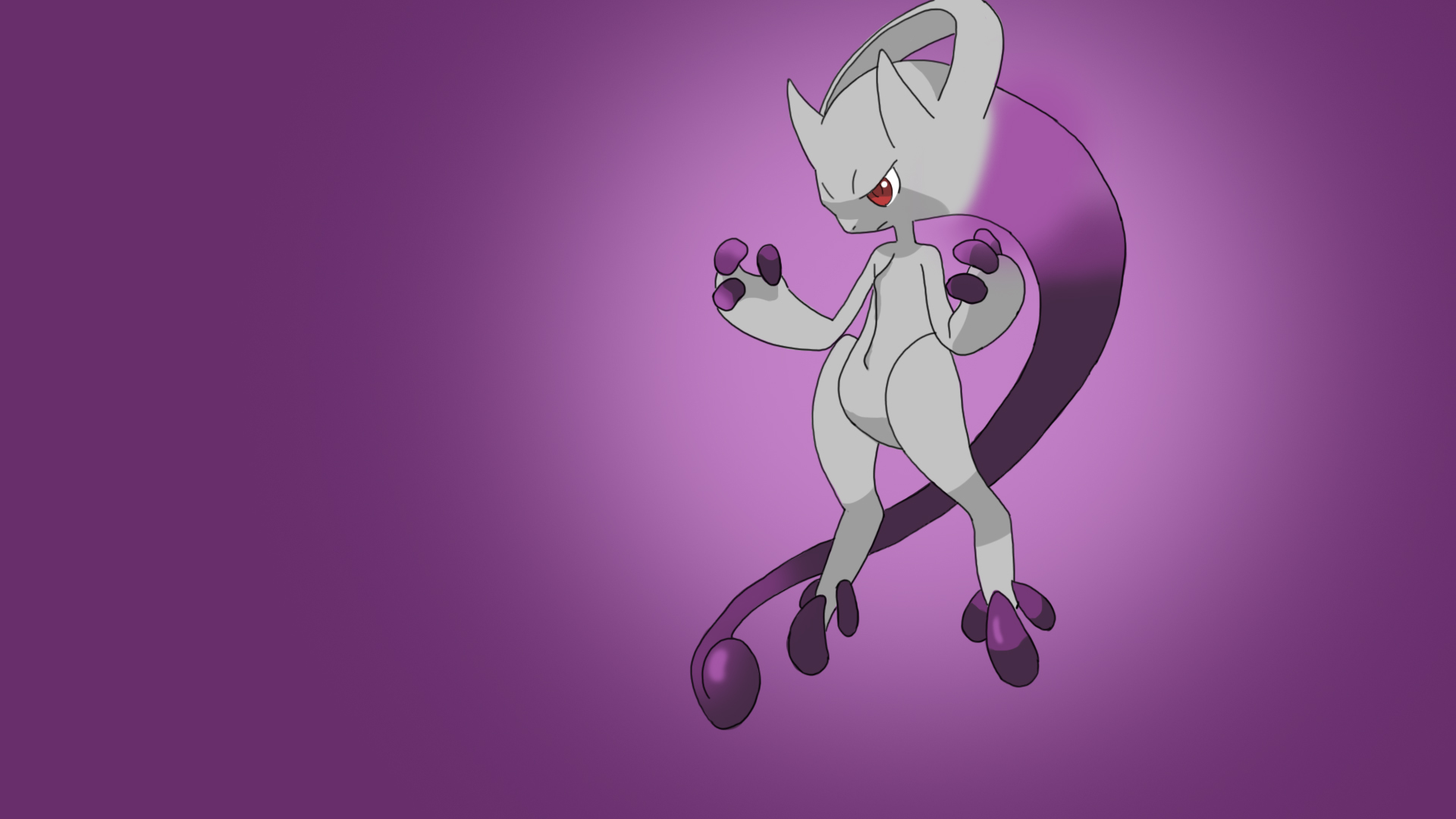 Speed Painting - Mega Mewtwo Y by XeteAnimaVlogs