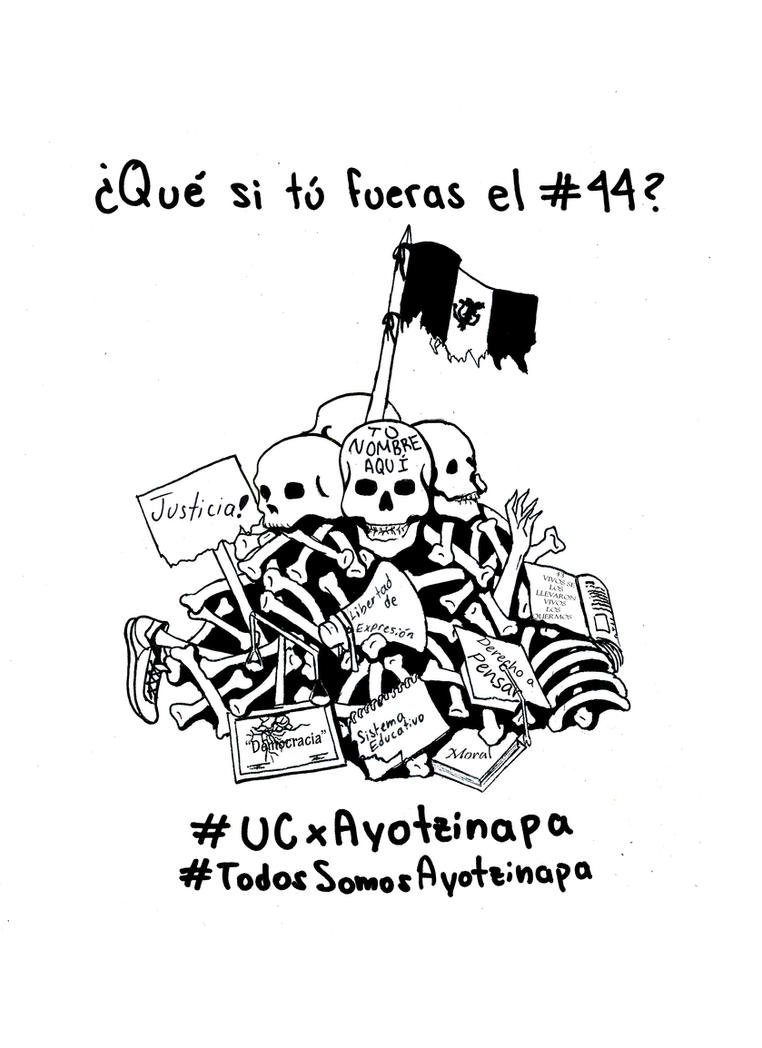 Ayotzinapa by CandyDeChocolate