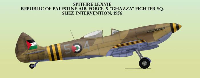 Palestinian Spitfire, 1956 by Jeremak-J