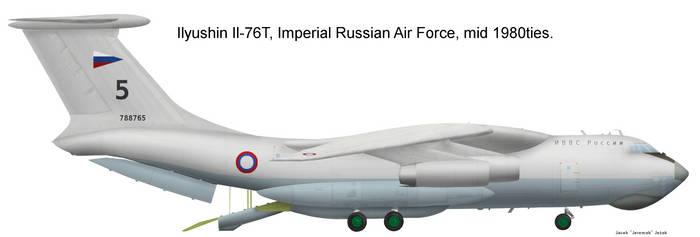 Tsarist Russia Il-76T by Jeremak-J