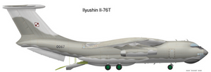 Polish Il-76: grey scheme
