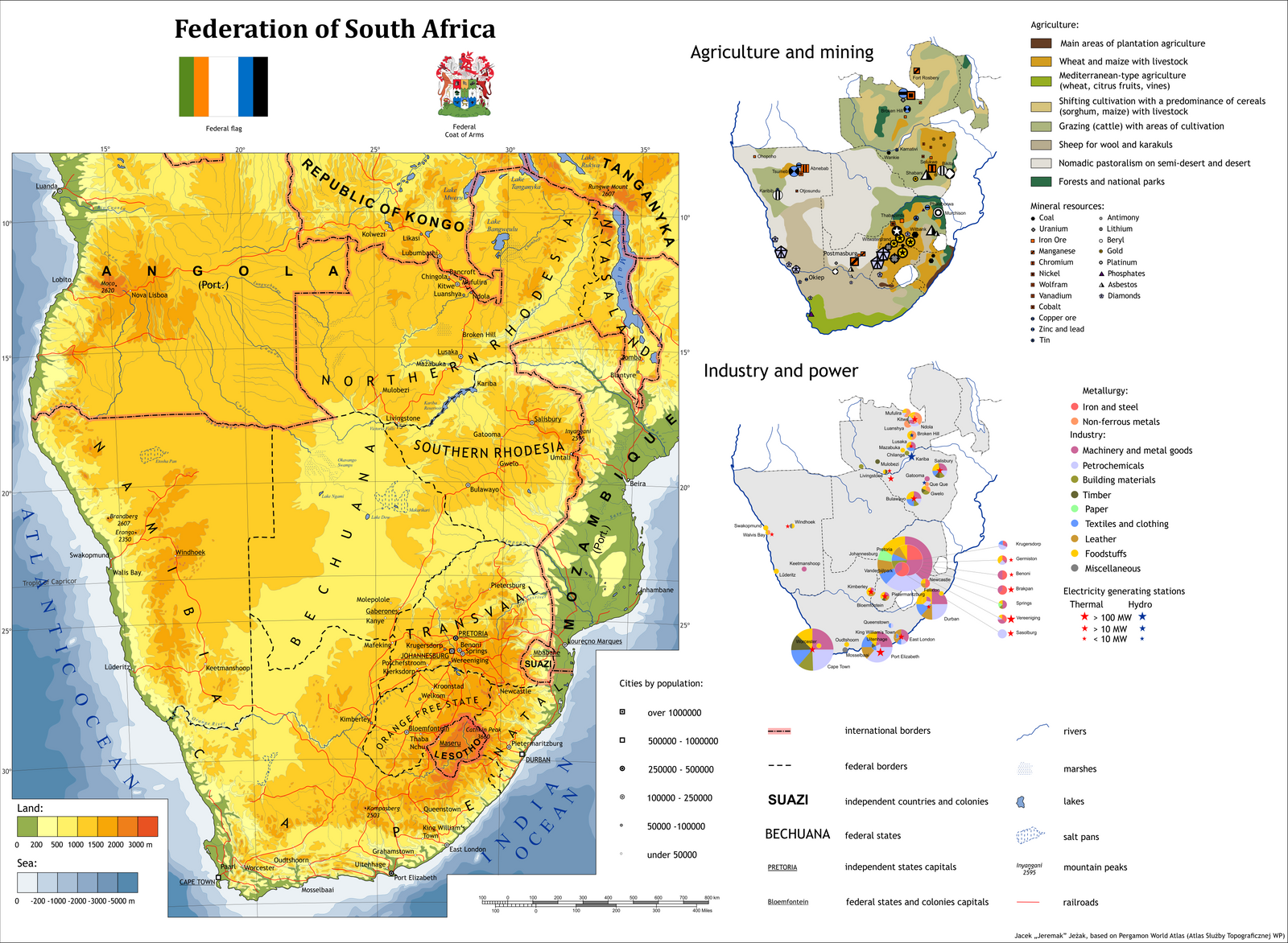 Alternate history maps and scenarios favourites by niwim on deviantart imdeadpanda 188 53 federation of south africa alternate history map by jeremak j gumiabroncs Images