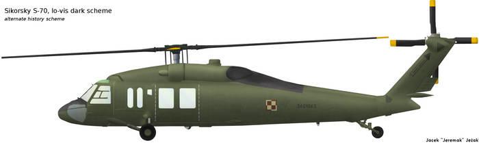 Sikorsky S-70 low-vis scheme