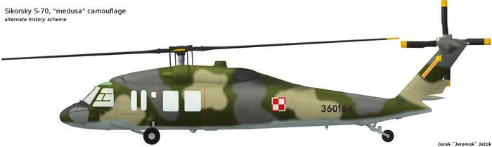 Sikorsky S-70 medusa camouflage