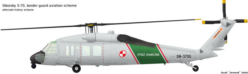 Sikorsky S-70 border guard scheme