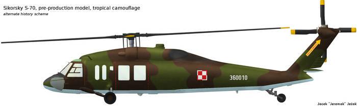 Sikorsky S-70 tropical camouflage by Jeremak-J