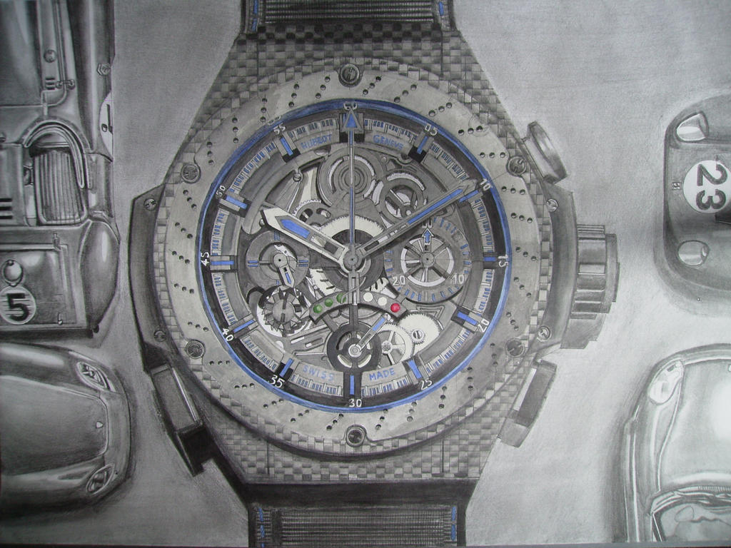 Watch Drawing 3 by i77310