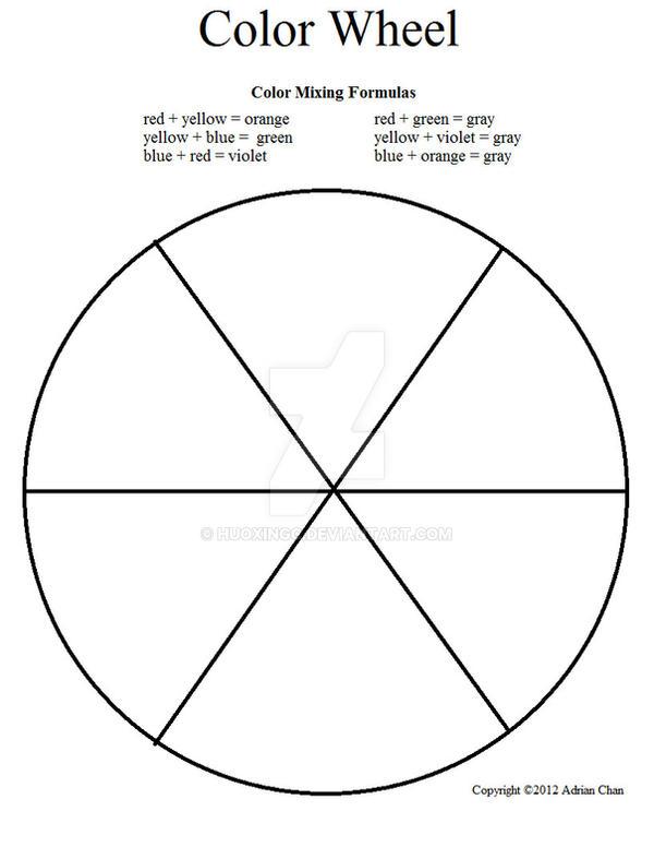 Printables Color Wheel Worksheet deviantart more like color wheel worksheet by huoxingc huoxingc