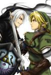 Dark Link vs Link