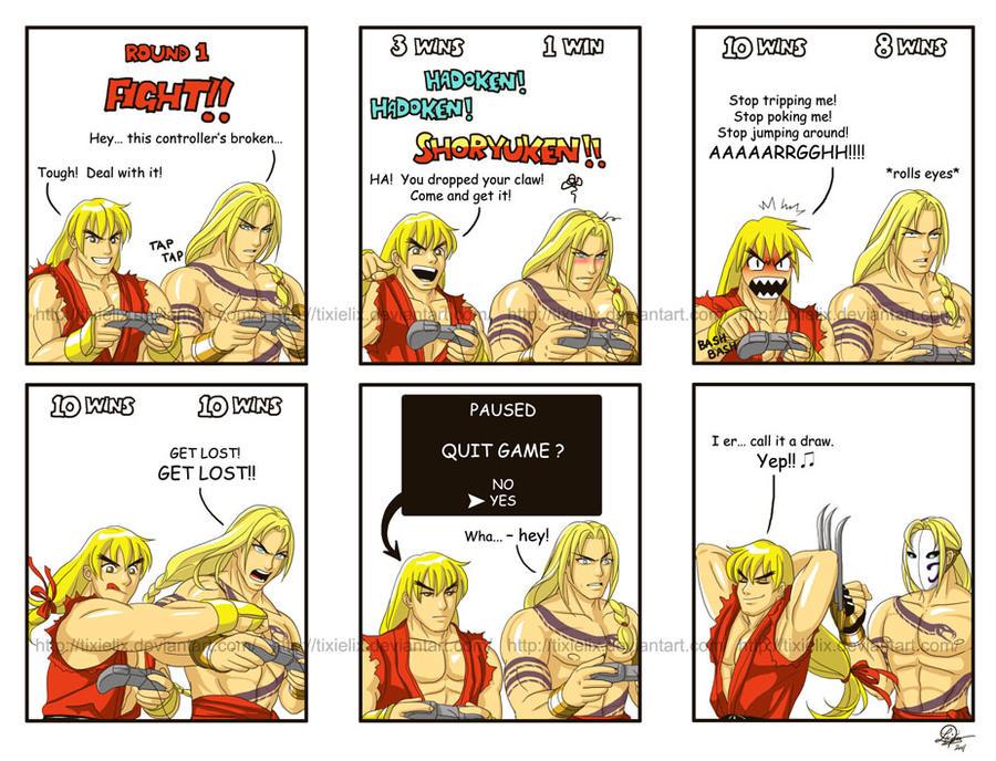 Ken vs Vega... again...