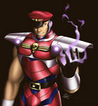 M.Bison - alt costume by TixieLix