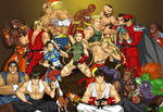 Street Fighters in your living room!
