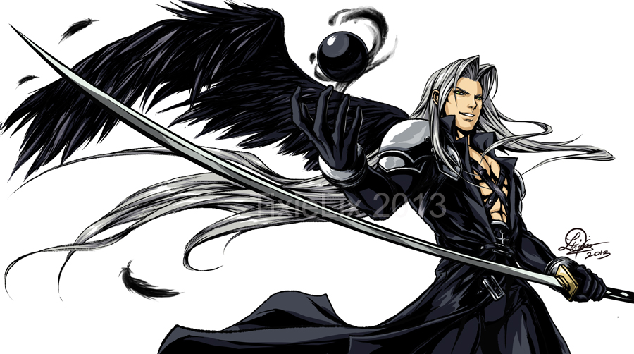 One-Winged Angel by TixieLix