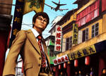 Bruce Lee is The Big Boss by TixieLix