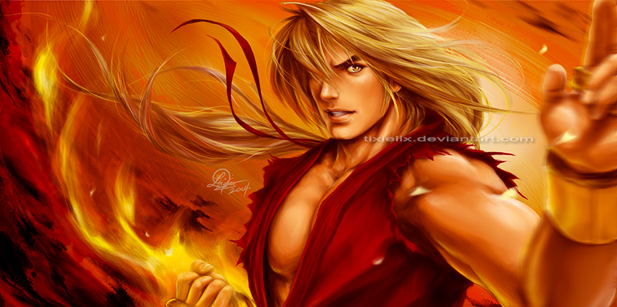 Ken Masters (Alpha) by TixieLix