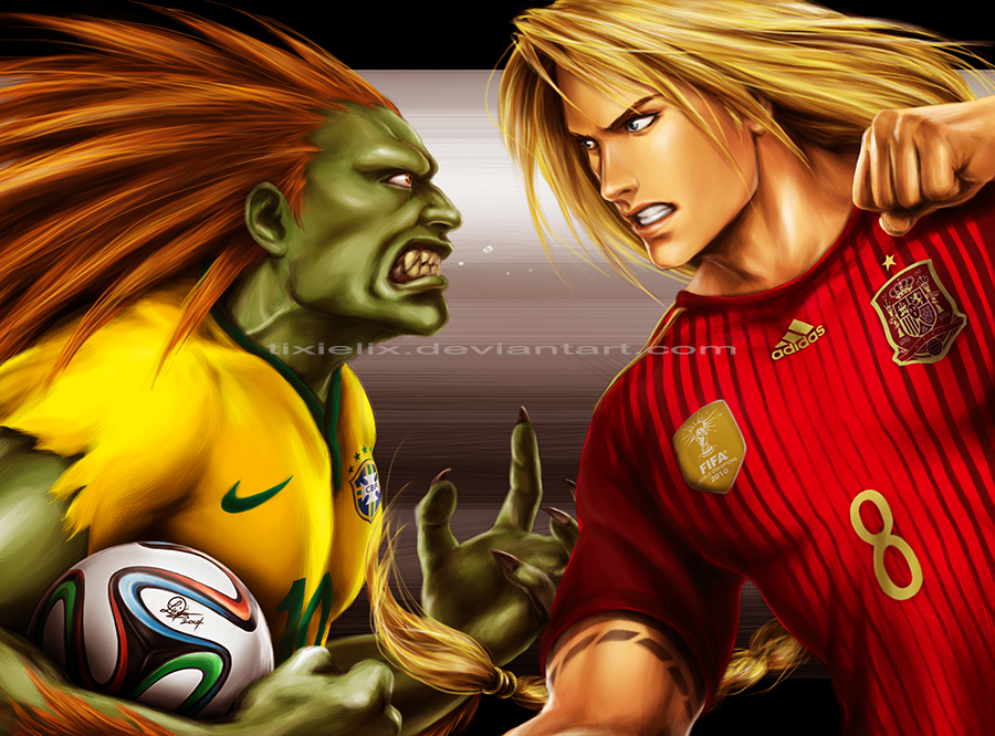 Pubg By Sodano On Deviantart: Street Fighter: 2014 FIFA World Cup Edition.. Lol By