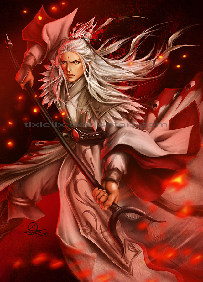 Lord Shen By Tixielix On Deviantart