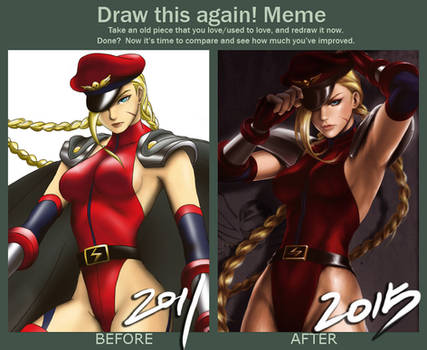 Draw This Again: Bison Alt Cammy