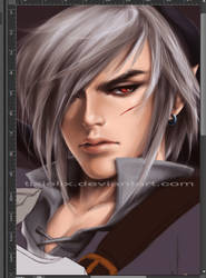 WIP Dark Link by TixieLix