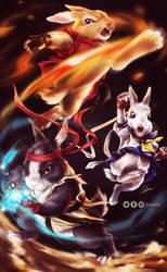 Karate Bunnies LOL