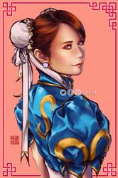 Chun Li cosplay (by urasawakana)