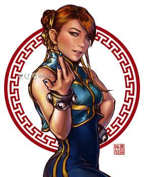 Chun Li cosplay (by miss-gidget)