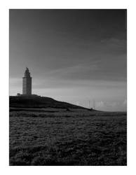 the tower of hercules by Johnn