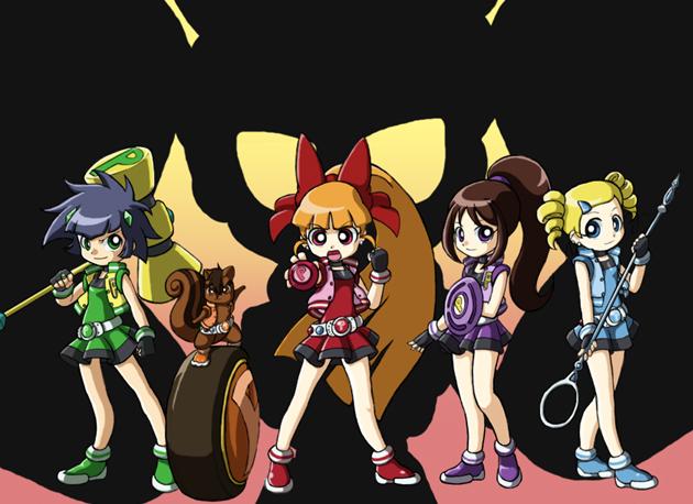 Yuji's PowerPuff Girls Z by Lance-the-One