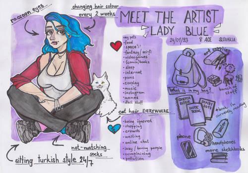 Meet the artist tag