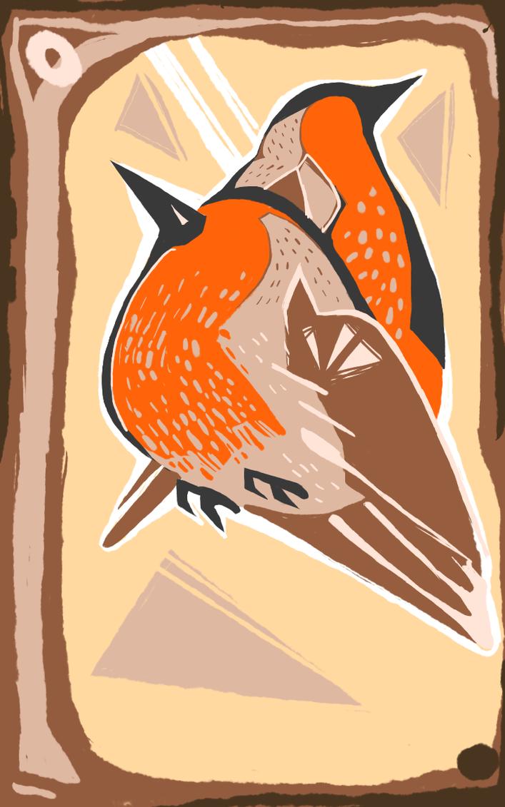 robin pair by troublebath