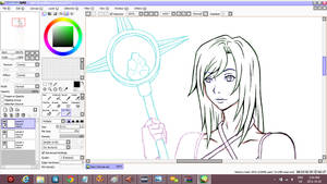 My Final Fantasy OC :: No name yet :: WIP by Kastella72