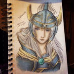 Warrior Of Light:: Color Sketch :: Dissidia